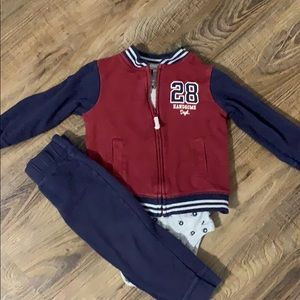 Carter's Baby Boy Football Outfit